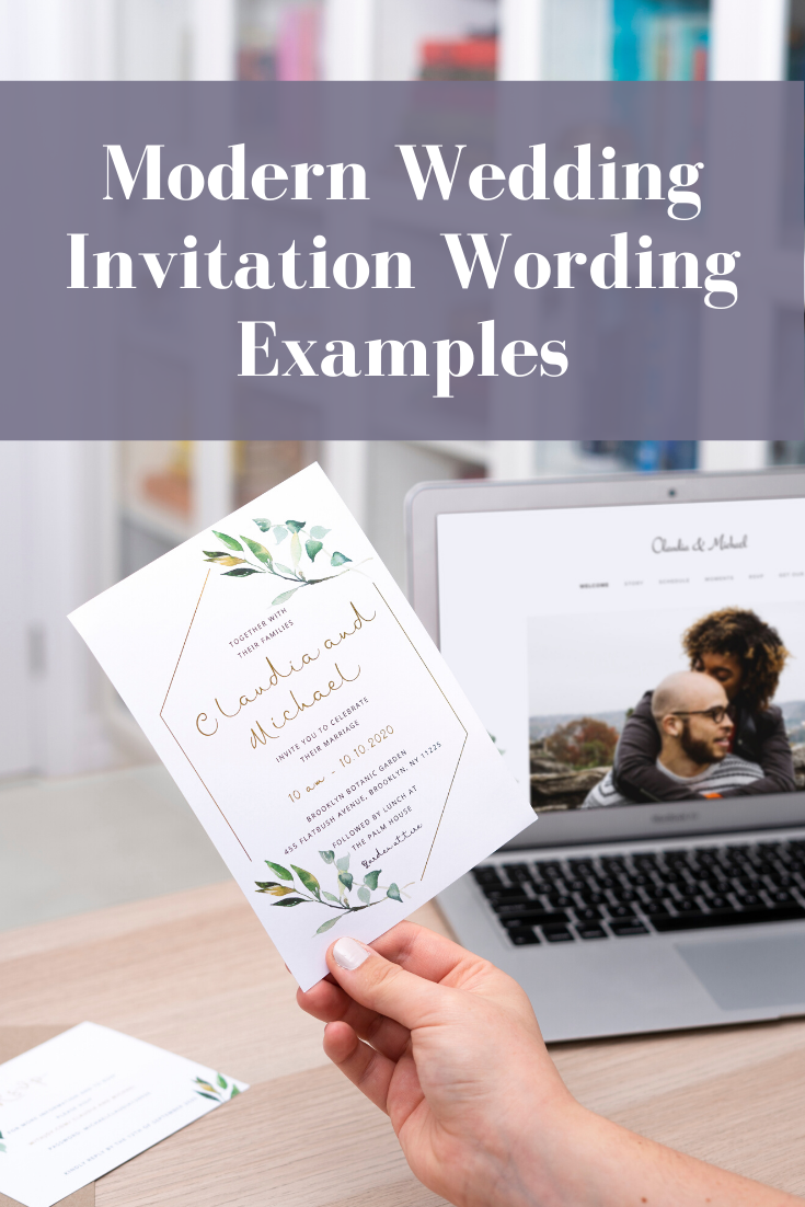 How to Word Your Wedding Invitations in 2020 Wedding