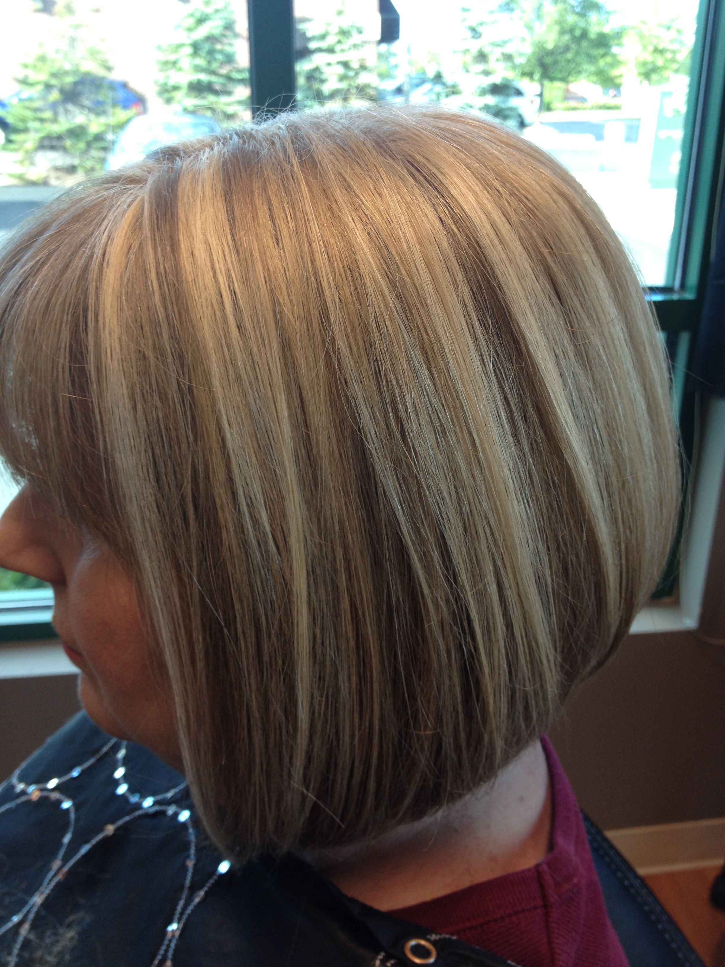 Blonde Highlights Bob Hairstyle Hair By Melissa Lobaito