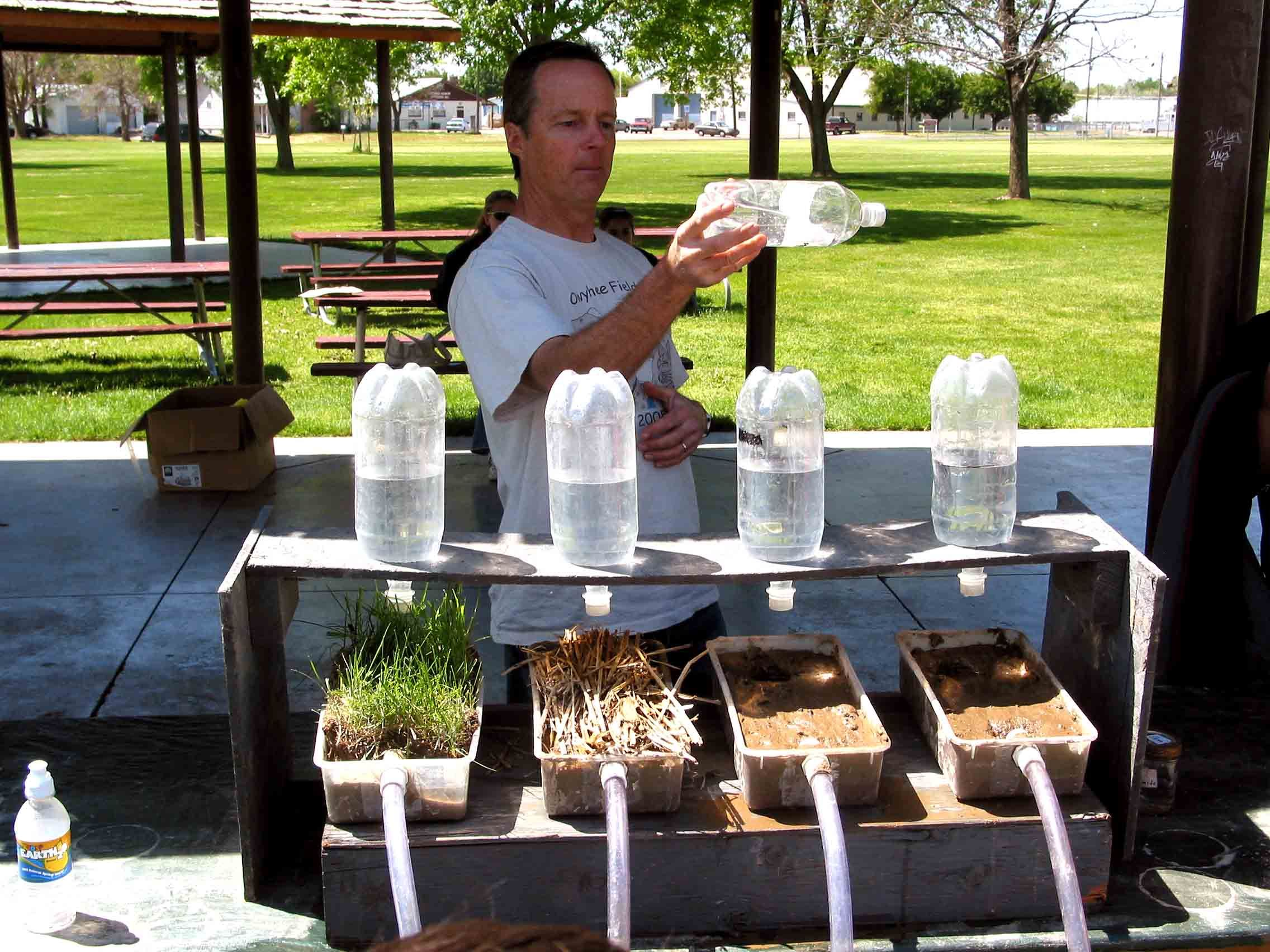 Soils And Soil Erosion Ee Pinterest Science Science Fair