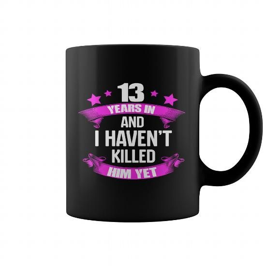 13 Year Wedding Gift: 13 Years Wedding Anniversary Gifts For For Wife Funny Mug