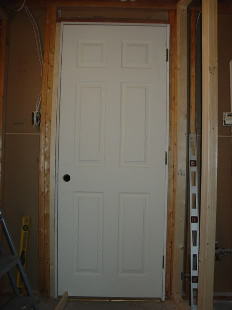 Installing Prehung Door In 2x3 Wall Prehung Doors Remodeling Mobile Homes Doors