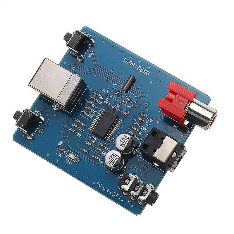 Dac Decoder Pcm2704 Usb To S Pdif Sound Card Board 3 5mm Analog Output Coaxial Hifi Module Module Board From Electronics On Banggood Com In 2020 Sound Card Hifi Audio Sound