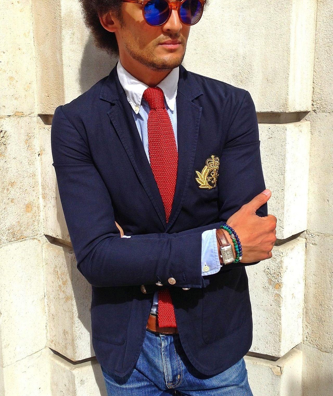 Ralph Lauren Oxford Shirt Harrods Of London Silk Tie Rugby
