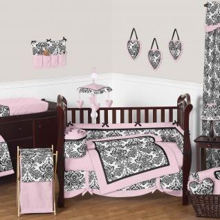 Sophia Bedding by Sweet Jojo Designs - Baby Crib Bedding - sophia-9