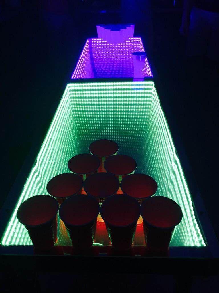 Diy Infinity Beer Pong Table In 2019 Beer Pong Tables