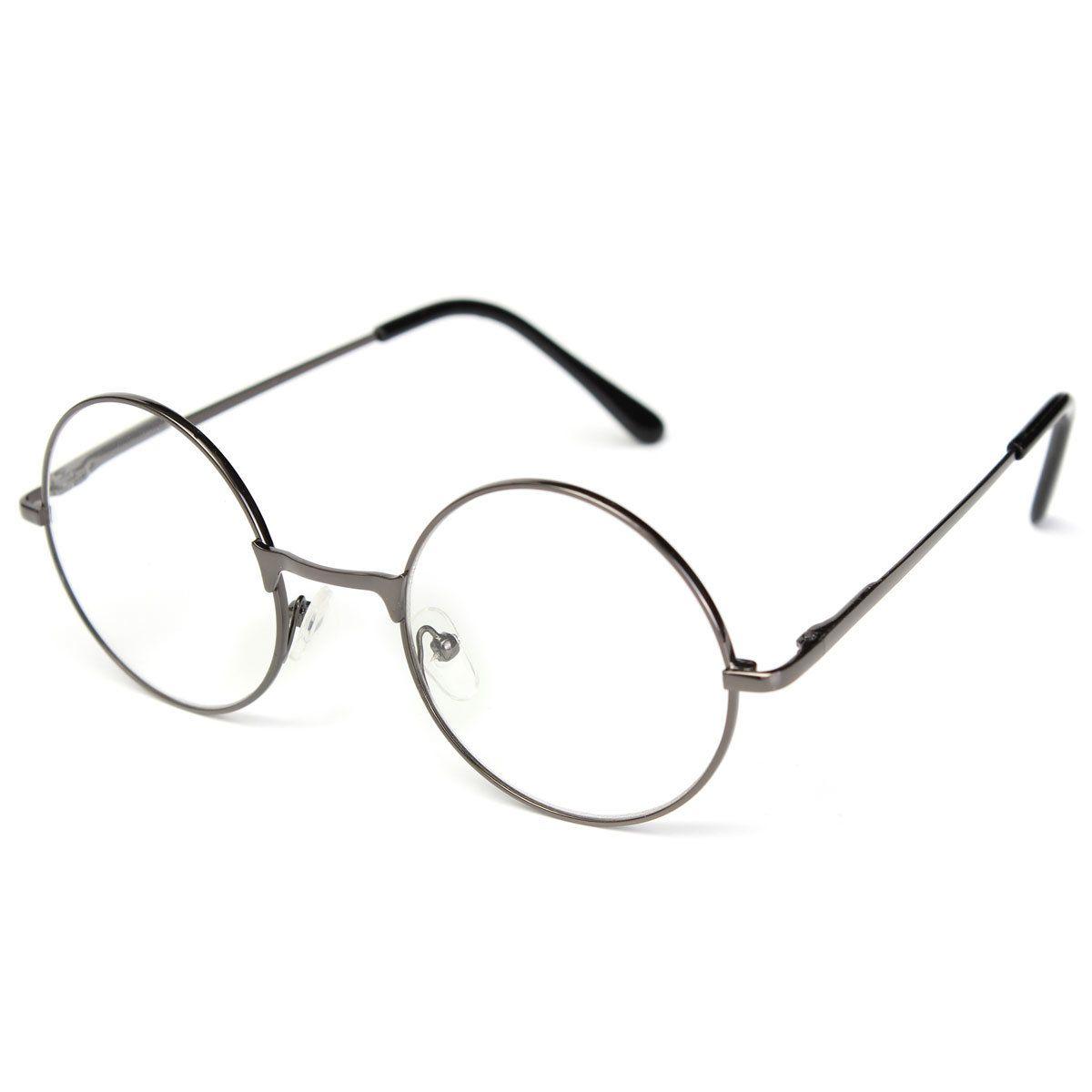 unisex men women resin round oval metal rim presbyopic reading glasses
