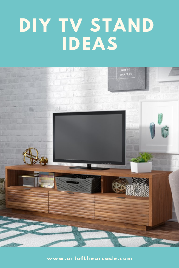 sports shoes ed4d4 e1cb2 13+ Inspirational DIY TV Stand Ideas for Your Room Home ...