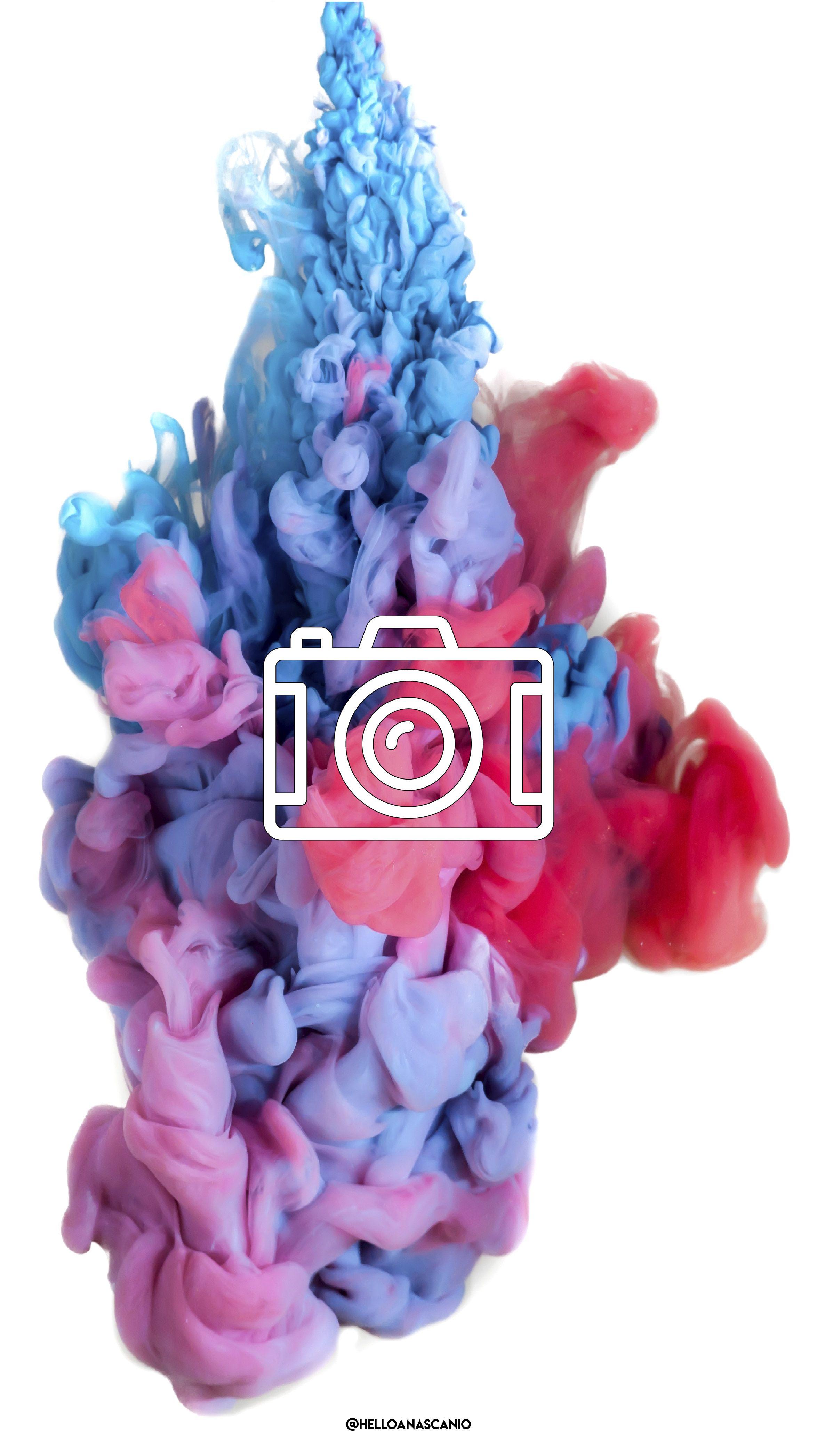 Instagram Story Highlights Icons Colorful Smoke Fondos De