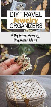 Photo of #DIY #Ideas #Jewelry #Organizer #Jewellery #Travel 3 Diy Travel Jewelr