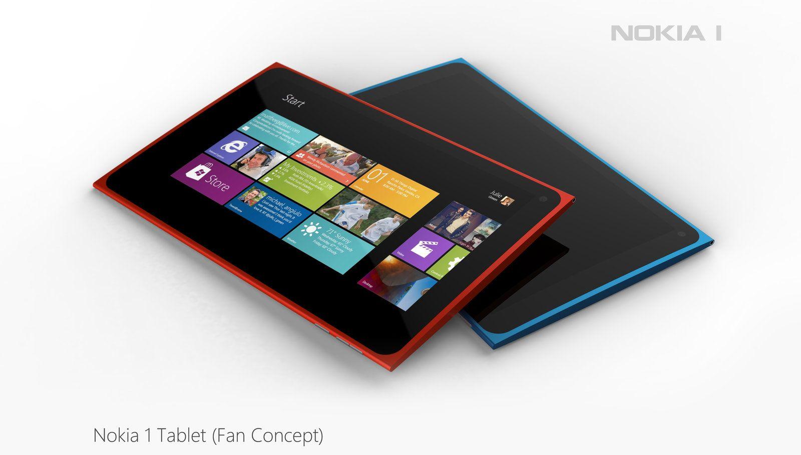 Hadde ikke hatt noe imot en Nokia tablet  med Windows 8 hvis de blir seende sånn ut.