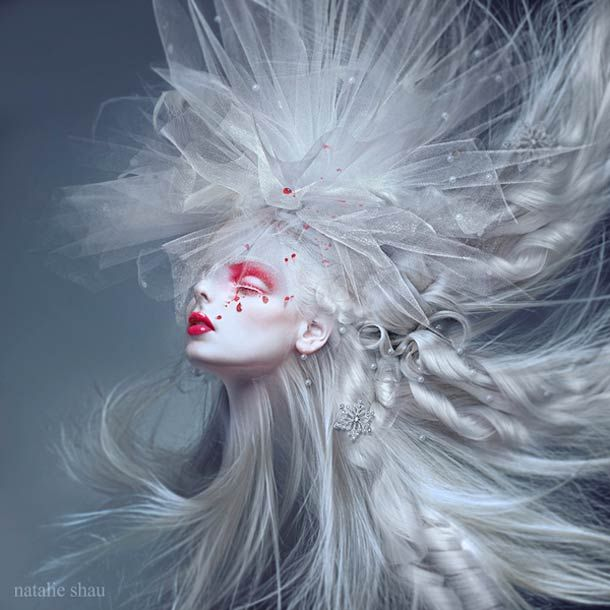 Ghostly Winds – Illustrations by Natalie Shau