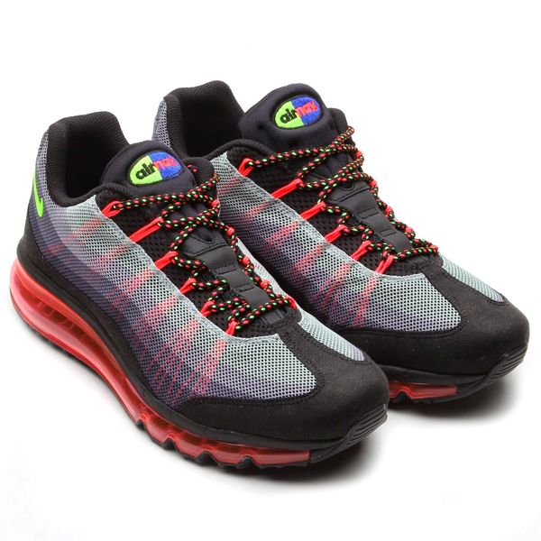 lowest price 8b0af a4510 Nike Air Max 95 2013 Dynamic Flywire  Black Flash Lime Game Royal