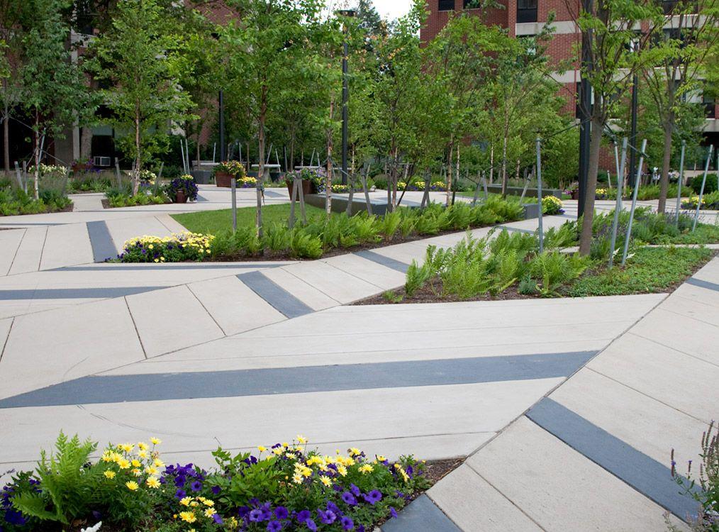 Contemporary Landscape Architecture mikyoung kim landscape architecture levinson plaza 09 « landscape