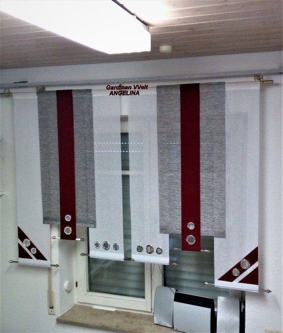 Modern sliding curtains set. Hallo,ich verkaufe selsbt
