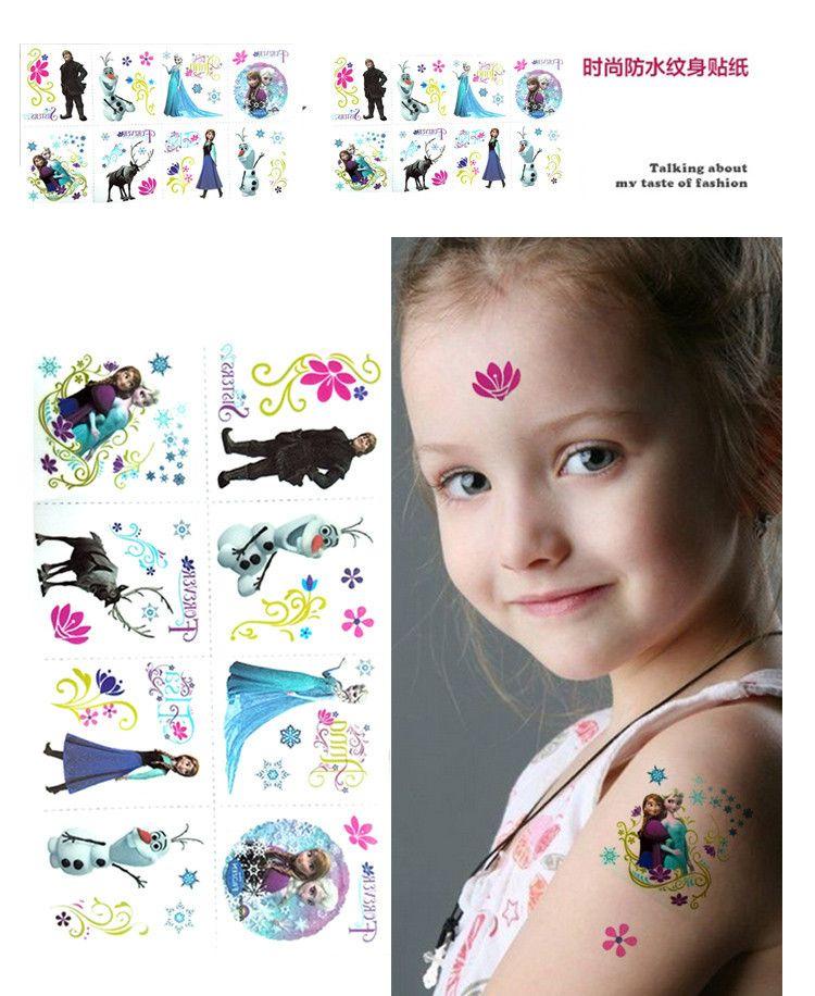 b47107b878b09 New-arrival-Frozen-tattoo-sticker-temporary-tattoo-stickers-kids-DIY ...