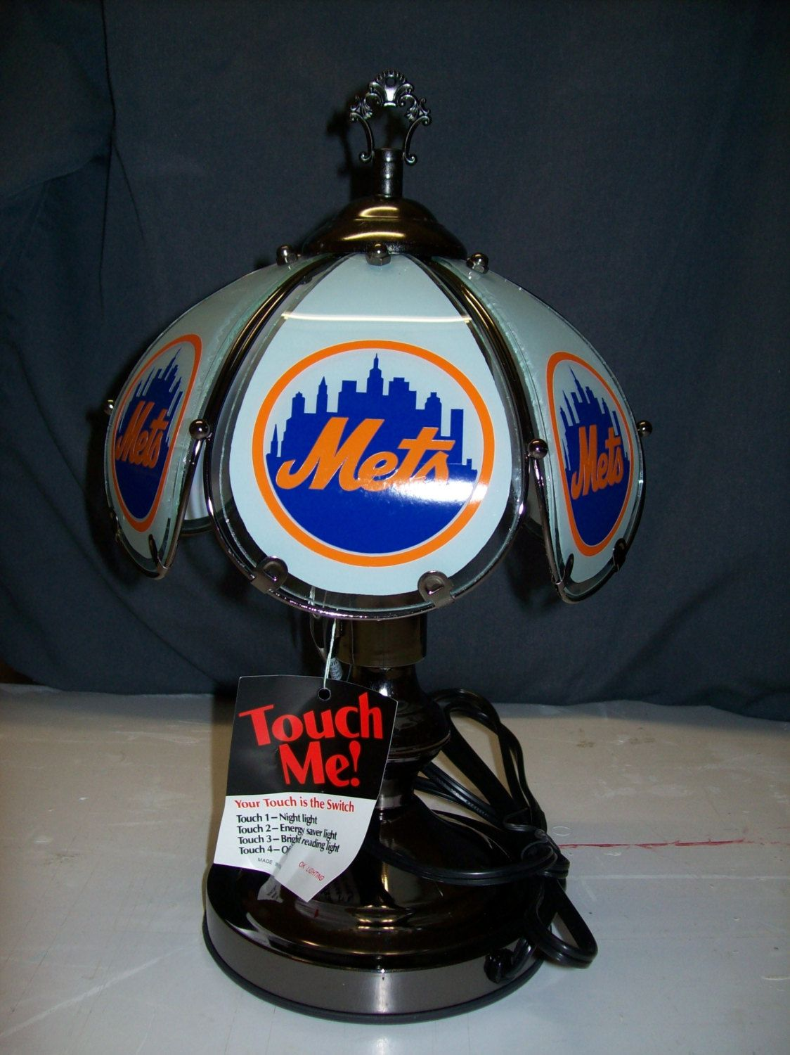 New York Mets 3-Way Touch Lamp 14\