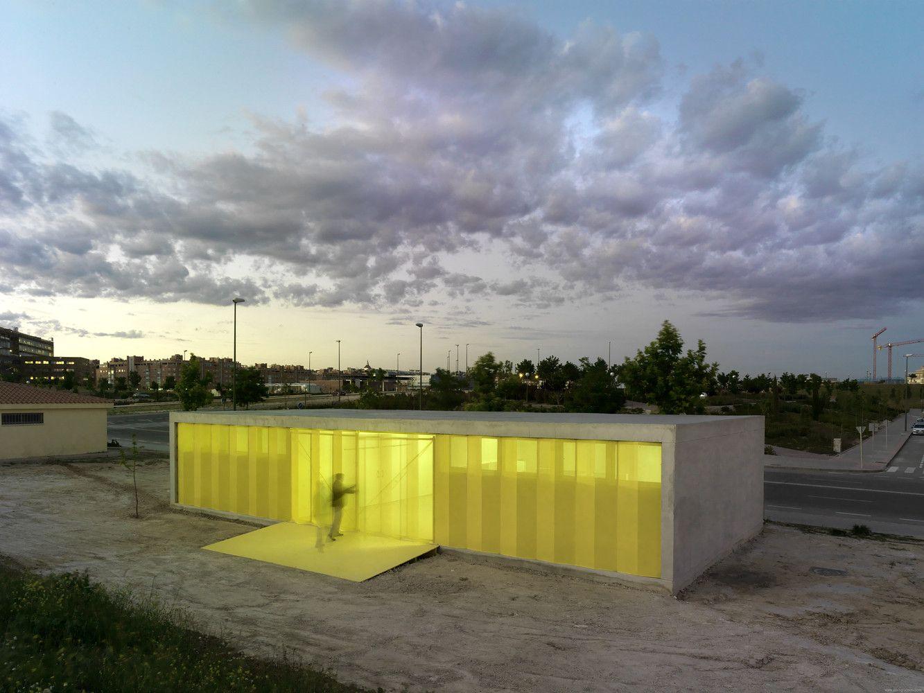 Gallery of Pabellones De Arbolado / Israel Alba - 3