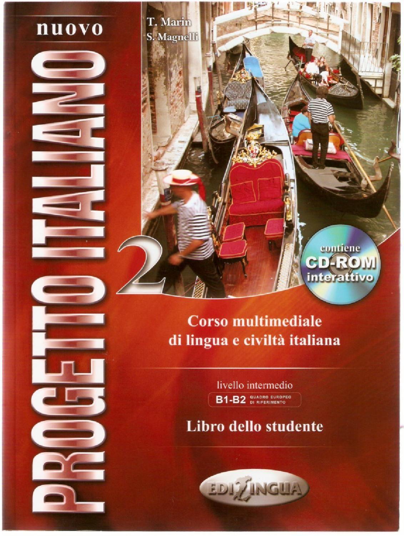 Nuovo Progetto Italiano 2 Libro Studente Libri Italia
