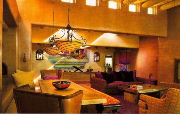 design int rieur de style mexicaine id es9 murs. Black Bedroom Furniture Sets. Home Design Ideas