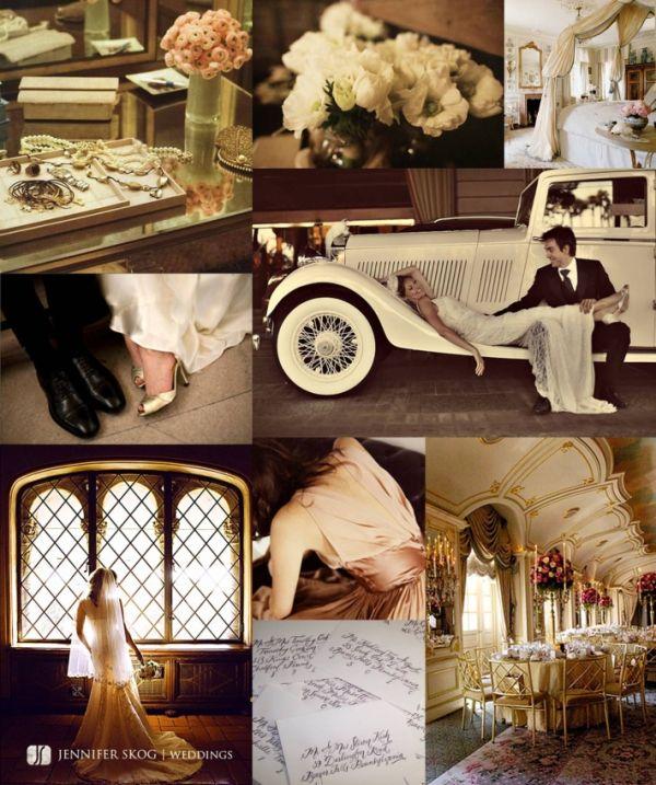 1920s Wedding Theme: 1920s Vintage Wedding Ideas