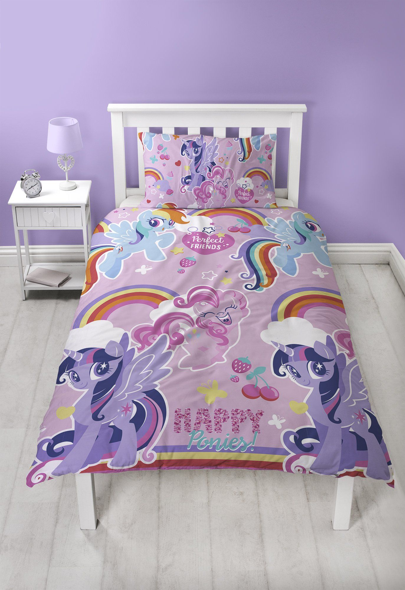 This Amazing My Little Pony Bedding Set Is Guaranteed To Make Your Little One Happy This Bedtime Our Amazing Cool Beds My Little Pony Bedding Favorite Bedding