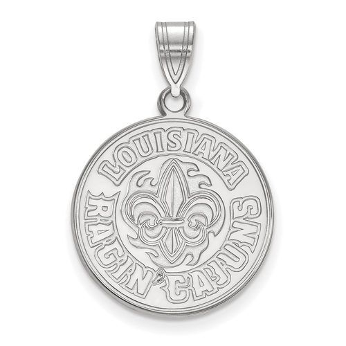 Logoart Sterling Silver Gp University Of Southern California Large Pendant Necklace