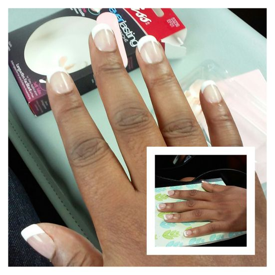 Review Kiss Everlasting French Real Short French Nails Everlasting French