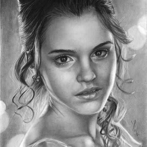 how to draw hermione granger easy beginners