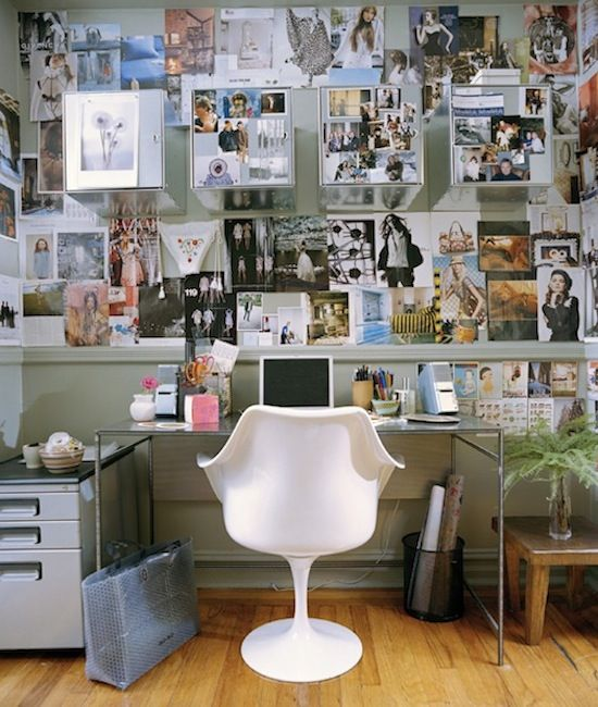 Cool office (I love when the spaces are full of stuff I hate - Home Office Decor Ideas