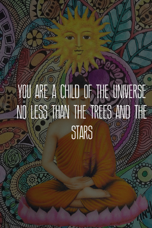 Universe and child
