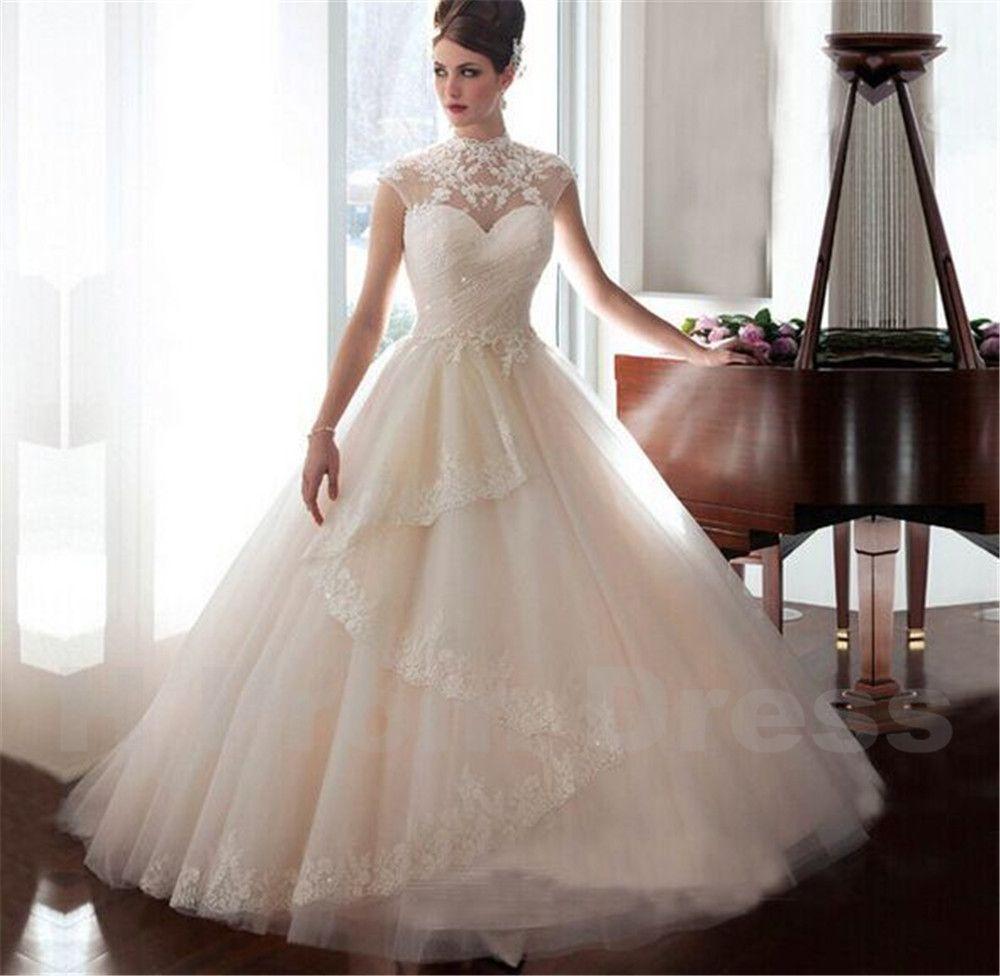 Wedding dress bride dress white bridal dresses ivory wedding dress