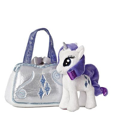 Take a look at this Rarity Purse & Plush Toy Set by My Little Pony ...