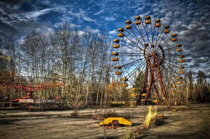 abandoned amusement parks | Abandoned amusement park.