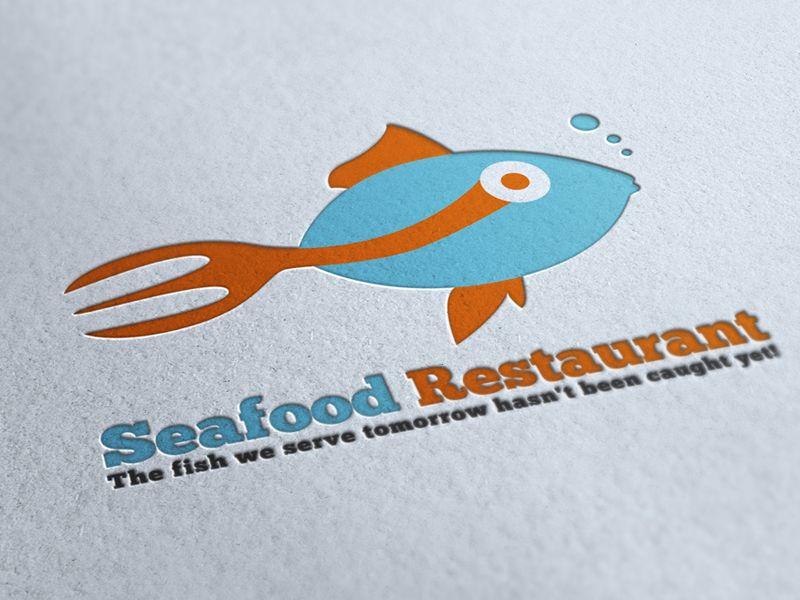 Seafood restaurant logo restaurant logos logo google for Creative fish names