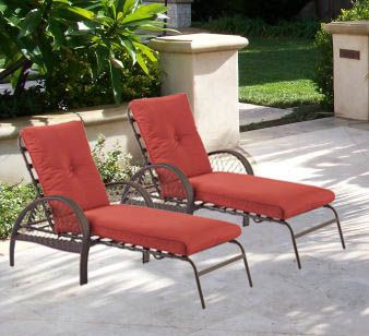 A Beautiful Outdoor Lounge Chair With