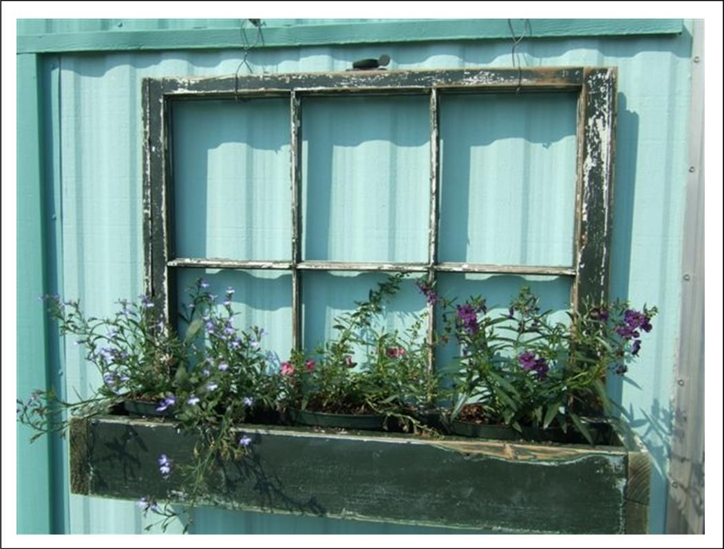 It\'s Written on the Wall: Old Windows: Use Them In So Many Ways as ...