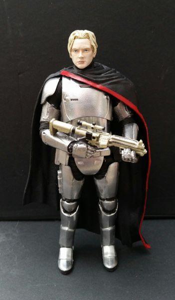 Captain Phasma Unmasked Star Wars Custom Action Figure
