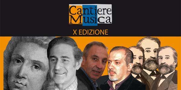"""Al via la X edizione di """"Cantiere Musica"""""""