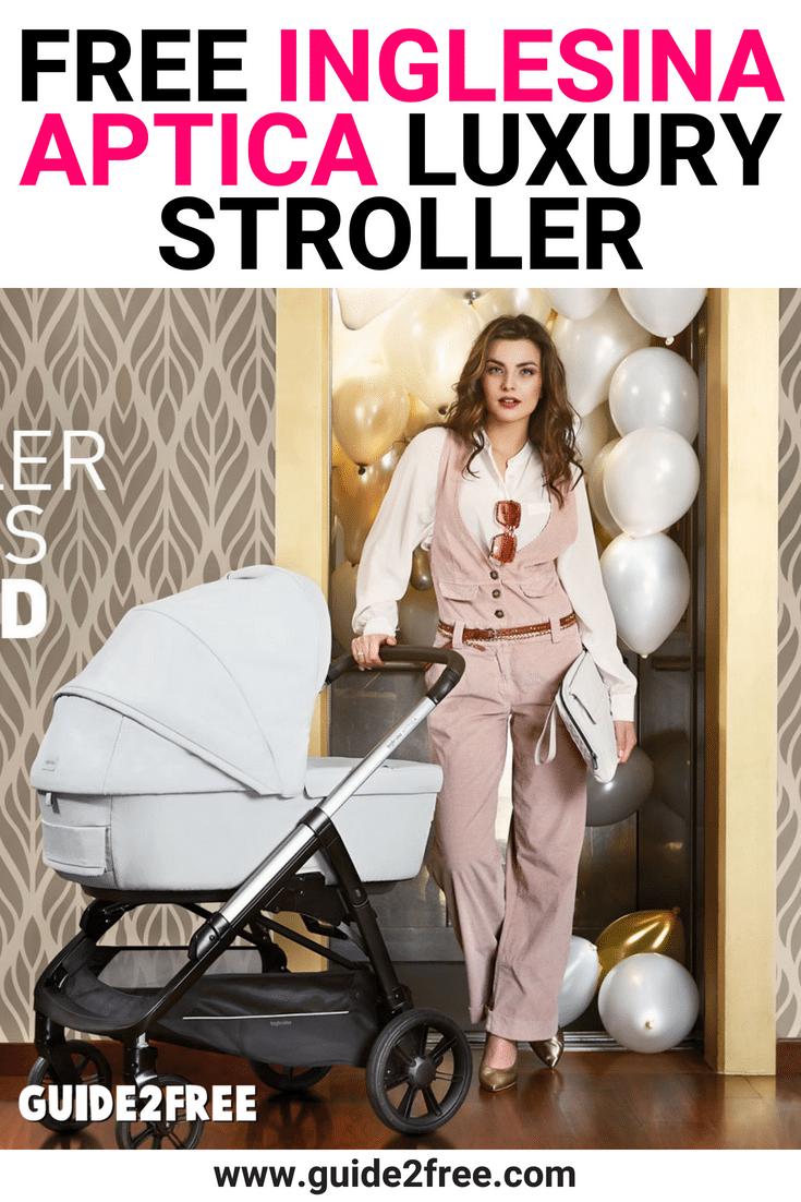 FREE Inglesina Aptica Luxury Stroller Luxury stroller