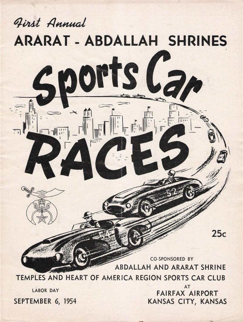 SCCA Race Results 1954 Etceterini Cliff Reuter in 2020