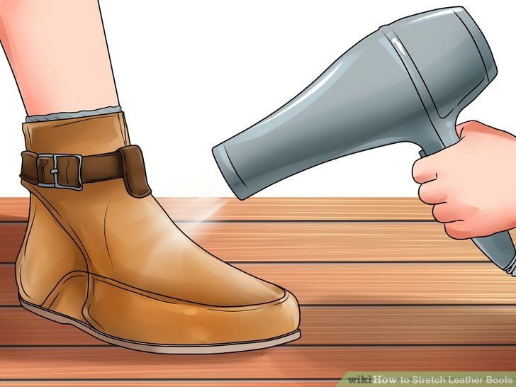 f6c4d77861a How to Stretch Leather Boots