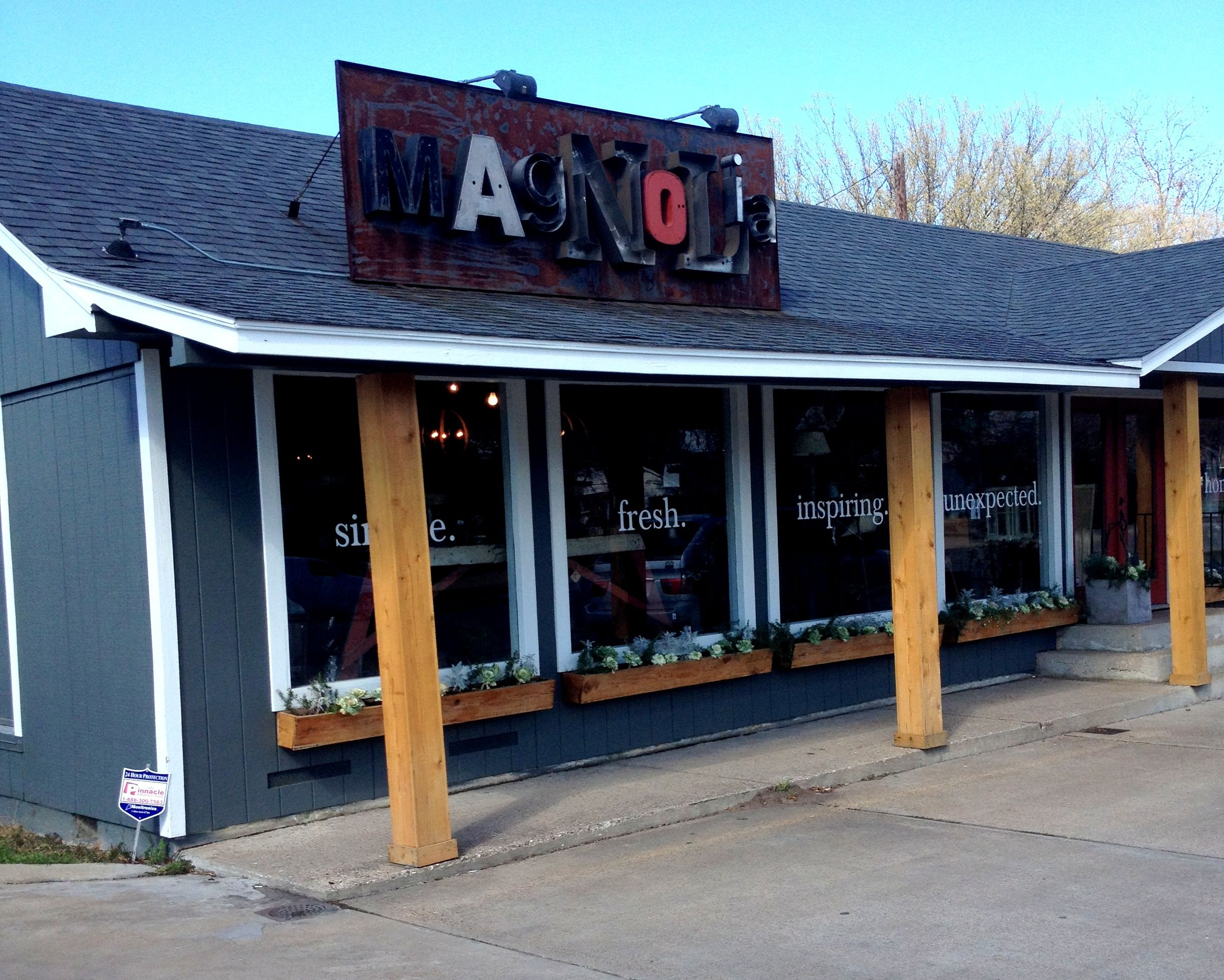 My Daughter, Courtney, gave me a trip to Waco for Valentines. Why Waco, you ask? That is where our favorite show, Fixer Upper on HGTV, is filmed! Our first stop on this beautiful day, Magnolia. This is Joanna's retail store and we had to see it!  As you can see, it is really cute. Joanna wasn't there! Probably best, I'm sure I would have embarrassed myself!