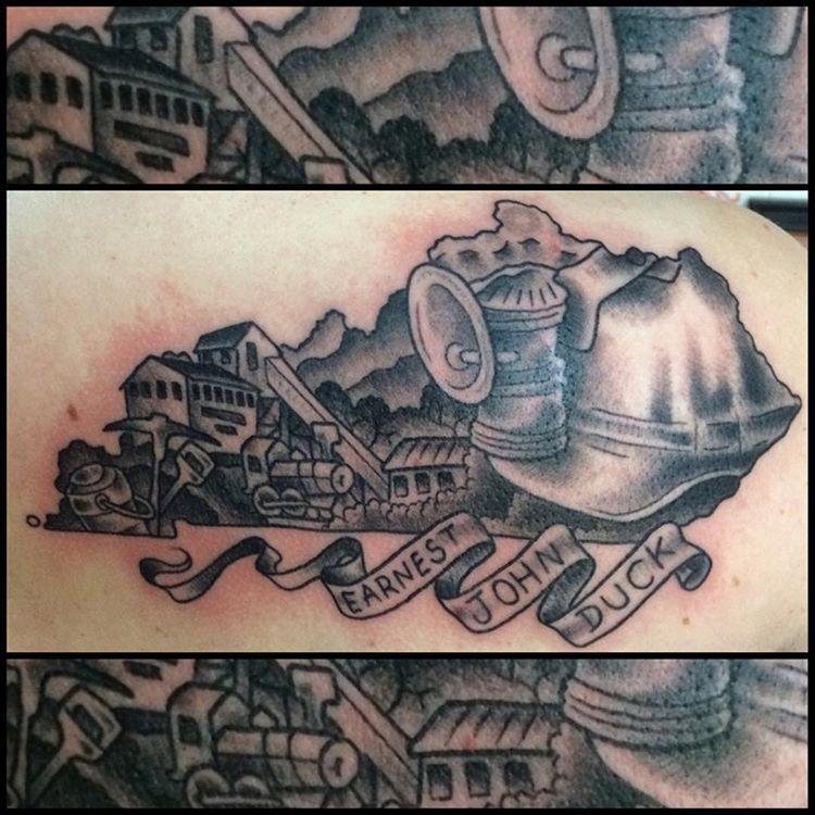 coal mining tattoo i in resim sonucu d vmeler pinterest tattoo. Black Bedroom Furniture Sets. Home Design Ideas