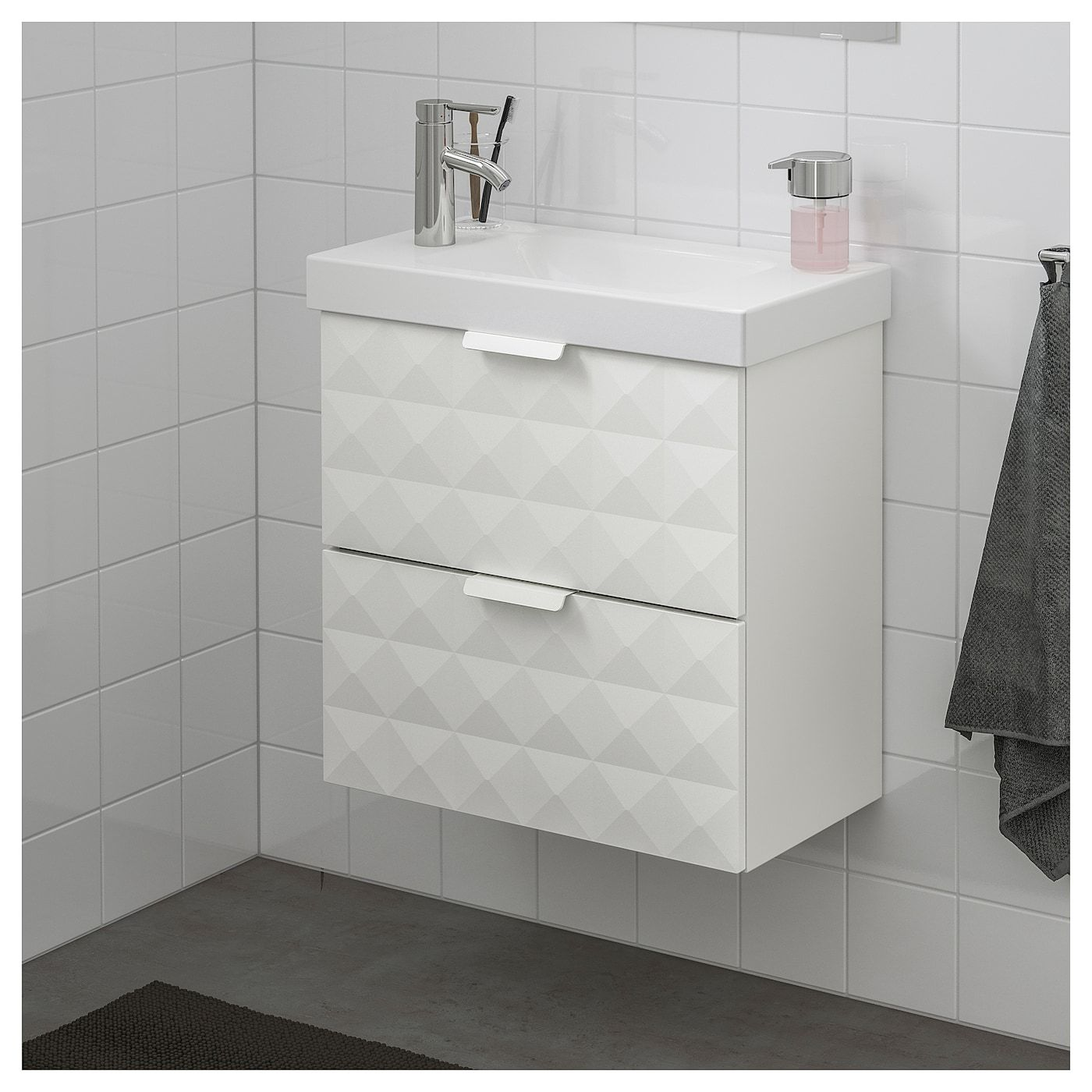 Us Furniture And Home Furnishings Ikea Drawers Wash Stand