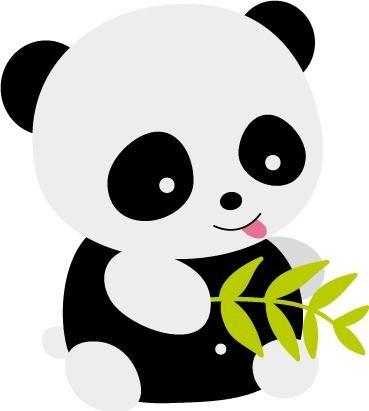 Resultado de imagen para tarjetas en forma de panda  Kawaii