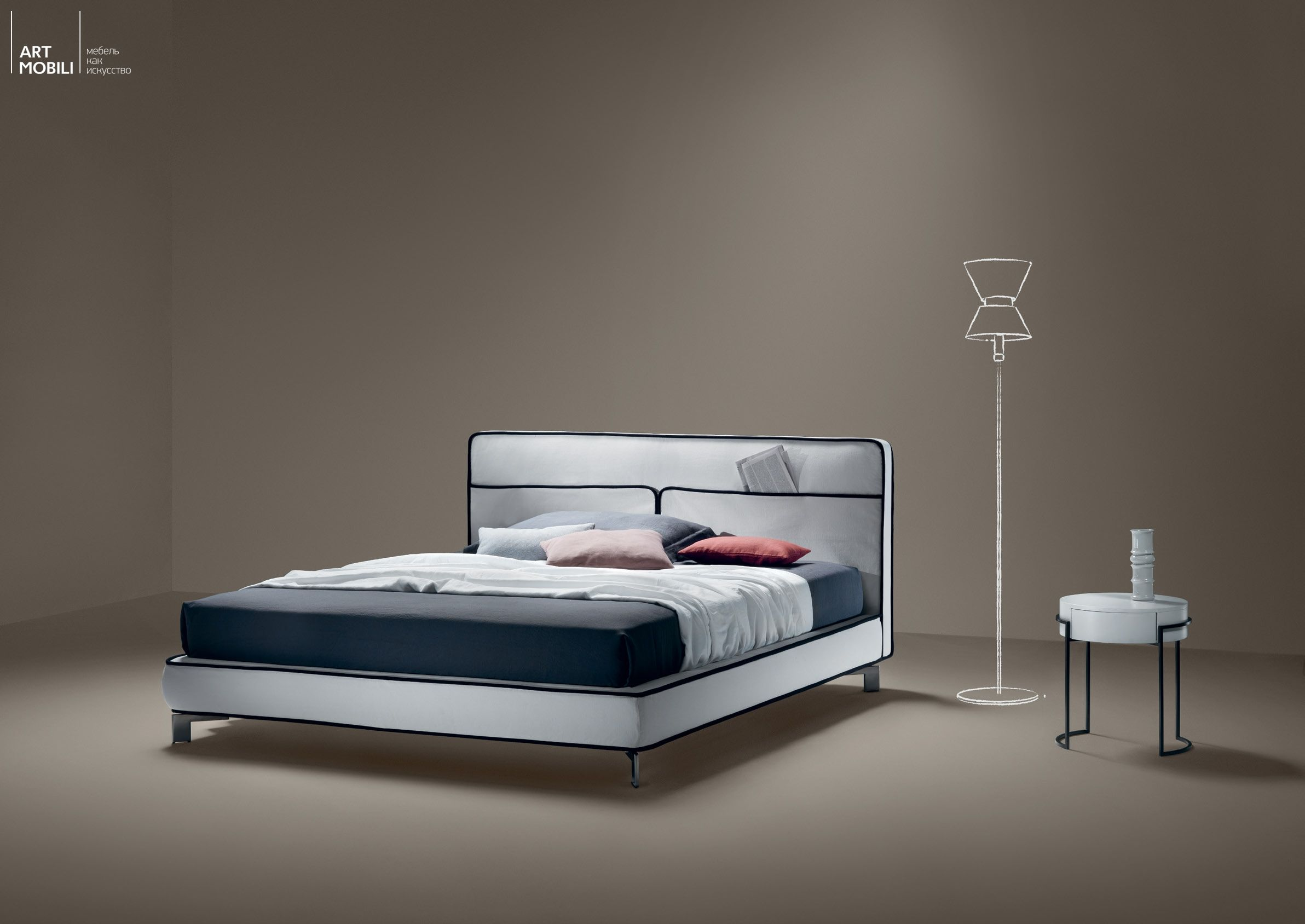 Axil Krovat Pario Indesign Collections Pinterest - Bohemian-bed-by-cinova-busnelli