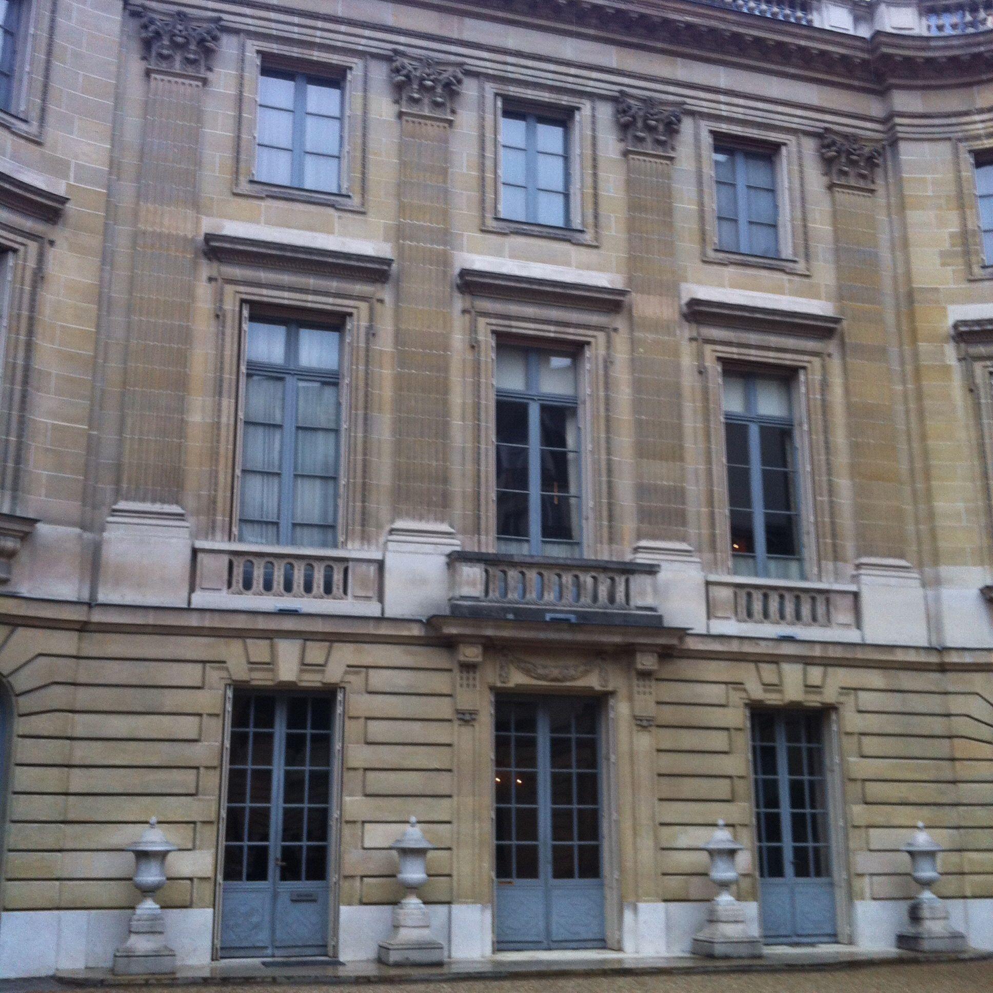Fachada De La Maison De Nissin De Camondo