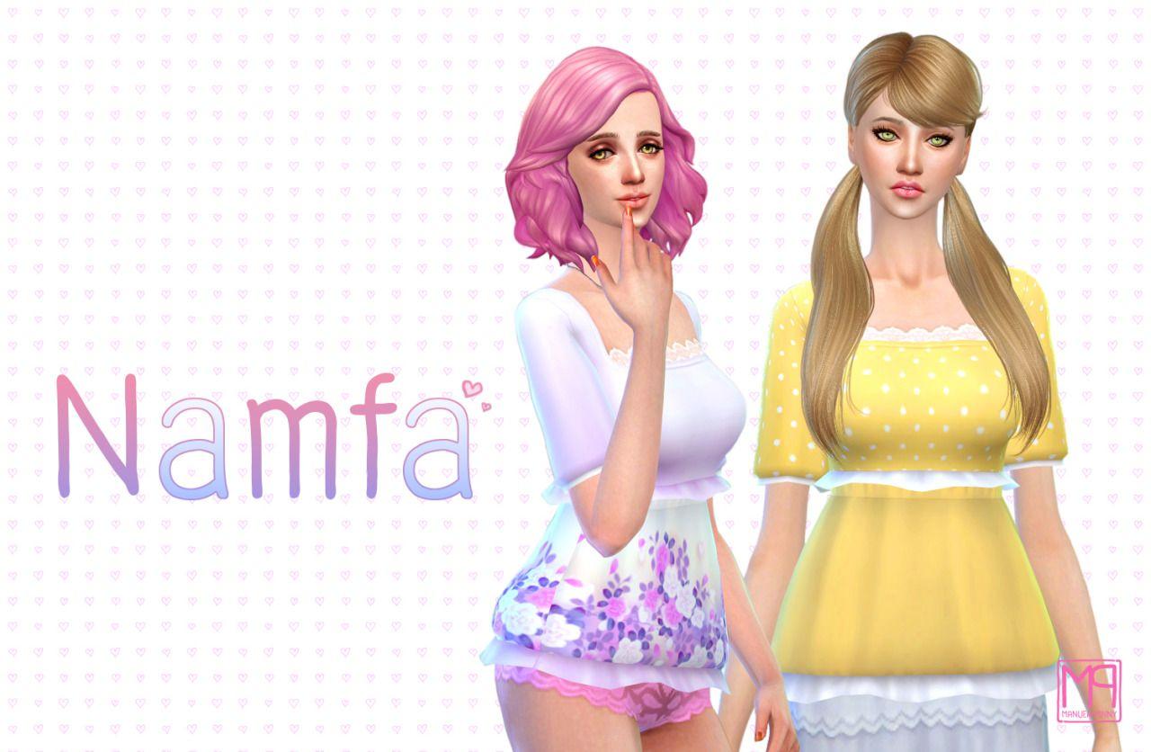 Namfa ☼ Teen To Elder 18 Colors [ Sim File