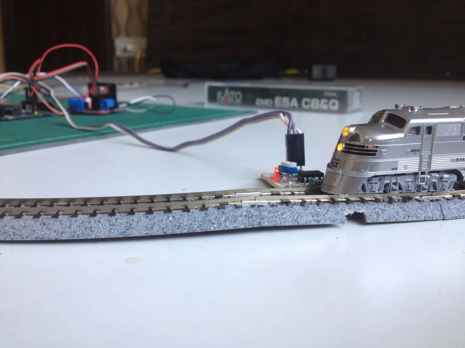 Simple Automated Point To Point Model Railroad Model Railroad Railroad Train Projects