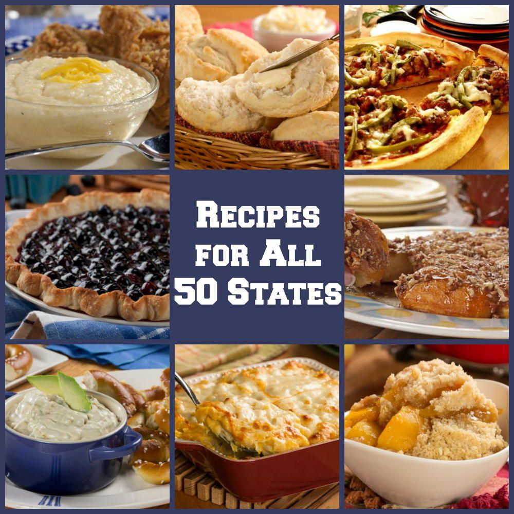 50 american food recipes for each state pinterest american food 50 american food recipes for each state mrfood forumfinder Choice Image